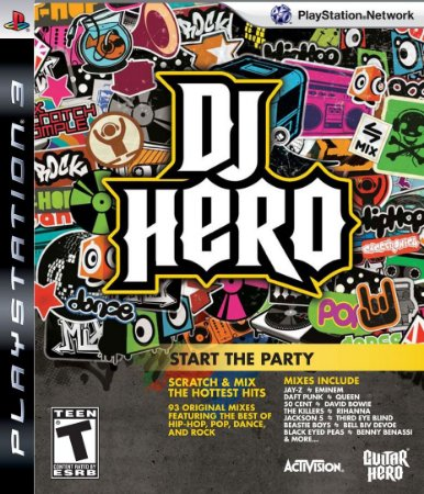 Jogo PS3 Dj Hero - Activision