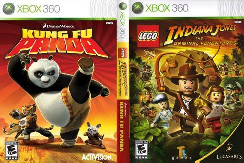 Usado Jogo Xbox 360 Lego Indiana Jones The Original Adventure + Kung fu Panda