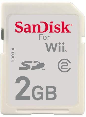 Cartão De Memória 2GB para Nintendo Wii - Sandisk