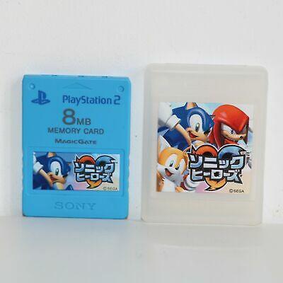 Acessório PlayStation 2 Memory Card Blue Sonic Original - SEGA