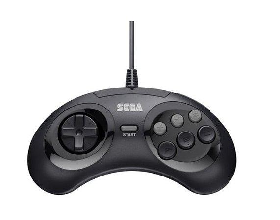 Usado Controle Mega Drive 6 Botões - Sega
