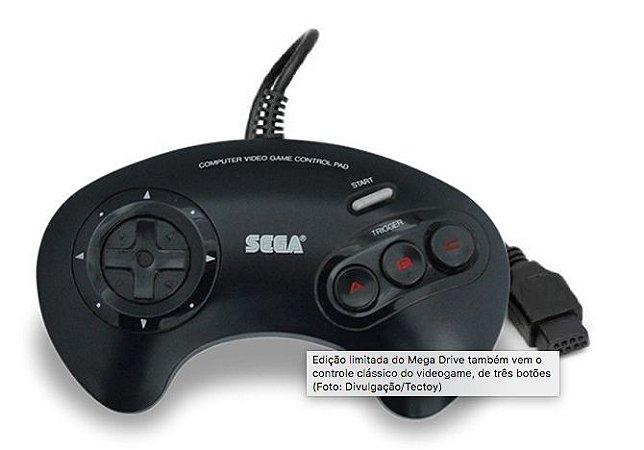 Controle Mega Drive 3 Botoes - Sega