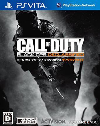 Jogo PSVita Call of Duty Black OPS Desclassified (Japones) - Activision