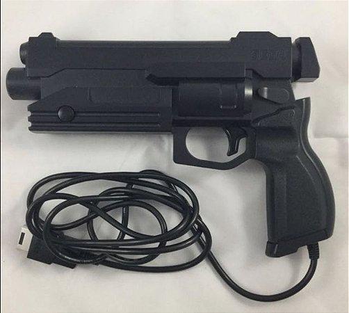 Usado Pistola Virtua Gun Sega Saturn Preto - Sega