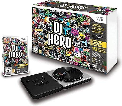 Jogo Nintendo Wii Dj Hero + Pickup - Activision