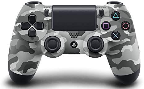 Usado Controle Dualshock 4 para Playstation 4 PS4 Camuflado Cinza - Sony