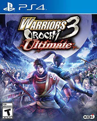 Jogo PS4 Warriors Orochi 3: Ultimate - Koei