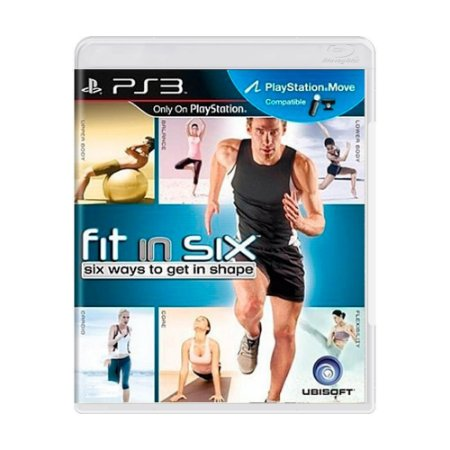 Usado Jogo PS3 Fit in Six Six Ways to Get Shape - Ubisoft