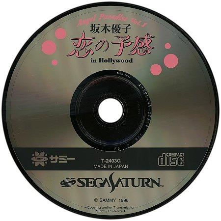 Usado Jogo Sega Saturn Angel Paradise 1 Yuko sakake in Hollywood Loose Japones - Sega