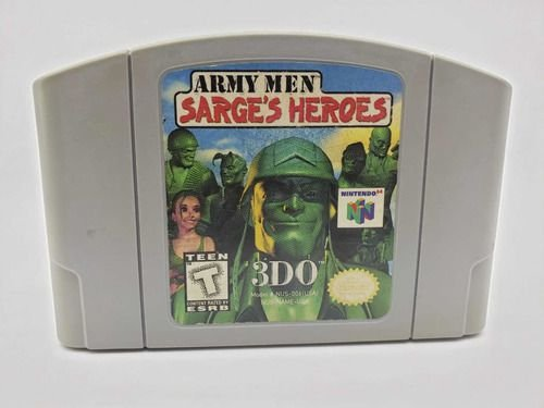 Jogo Nintendo 64 Army Men Sarges Heroes - 3DO