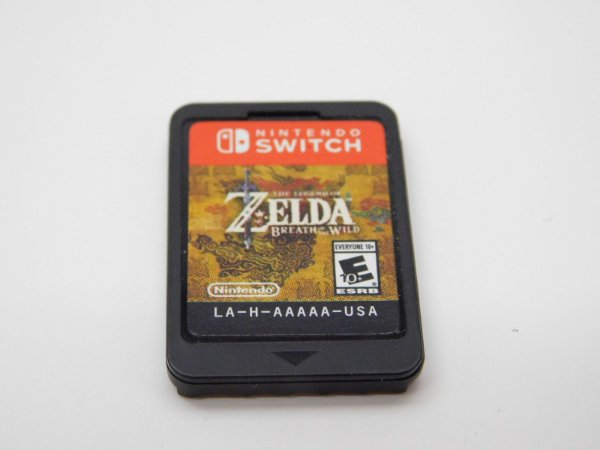 Usado Jogo Nintendo Switch The Legend Of Zelda Breath Of The Wild | Somente o Jogo - Nintendo