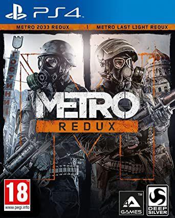 Jogo PS4 Metro Redux - Deep Silver