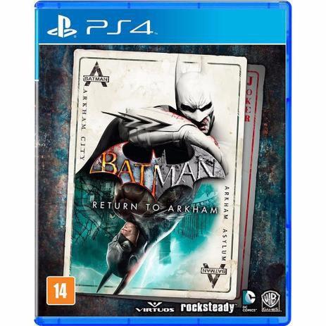 Jogo PS4 Batman Return To Arkham - Warner Bros Games