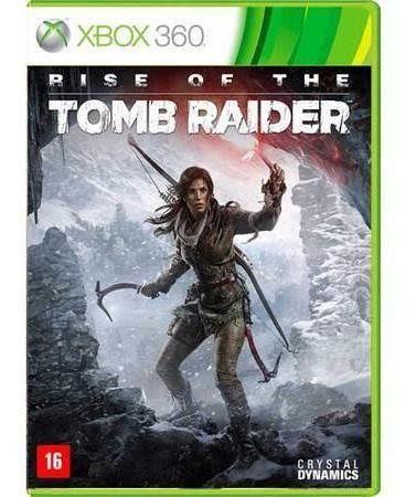 Jogo Xbox 360 Rise of the Tomb Raider - Crystal Dynamics