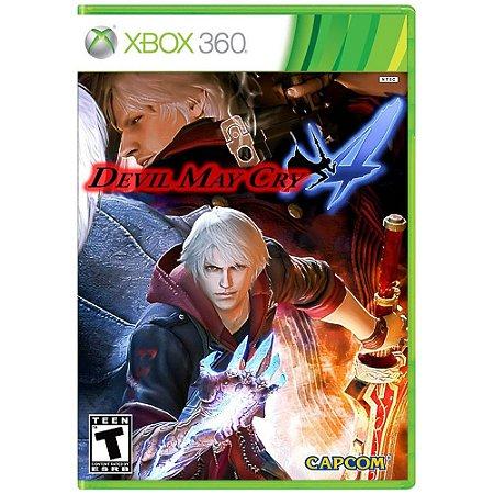 Jogo Xbox 360 Devil May Cry 4  - Capcom