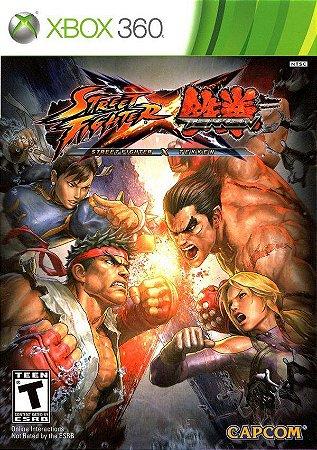 Jogo Xbox 360 Street Fighter X Tekken - Capcom