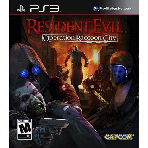 Usado Jogo PS3 Resident Evil Operation Raccoon City - Capcom