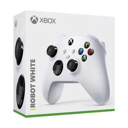 Usado Controle Xbox Controle para Xbox One / Series X / Series S - Wireless Robot White - Microsoft