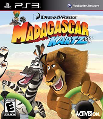 Usado Jogo PS3 Madagascar Kartz - Activision