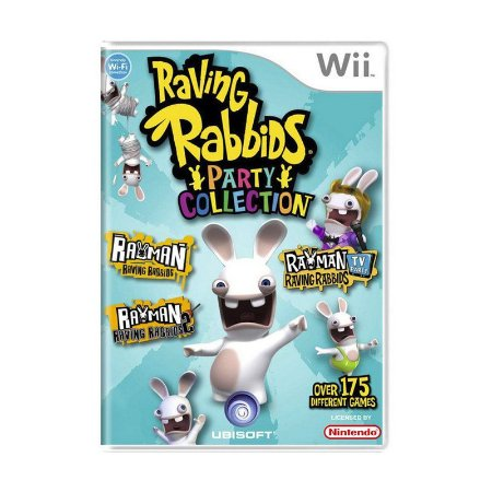 Jogo Nintendo Wii Raving Rabbids Party Collection - Ubisoft