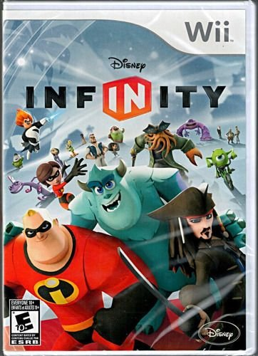 Jogo Wii Disney Infinity com base, mundo e 2 personagens - Disney