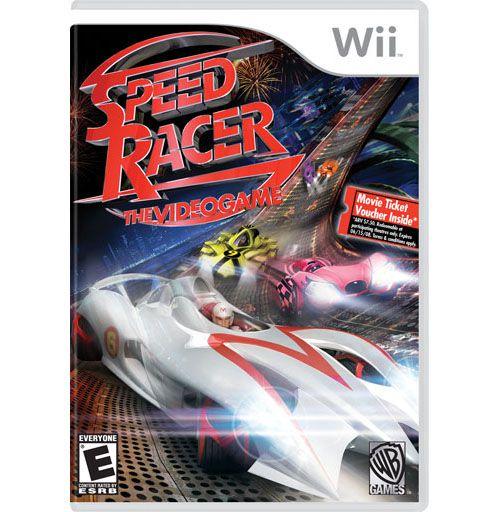 Usado Jogo Nintendo Wii Speed Racer - Nintendo