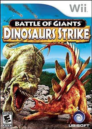 Jogo Nintendo Wii Battle Of Giants Dinosaurs Strike - Ubisoft