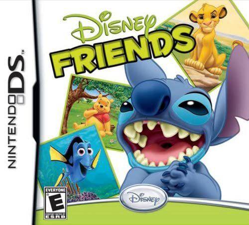 Jogo Nintendo Ds Disney Friends - Disney