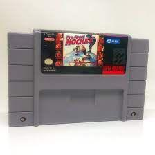 Usado Jogo Nintendo Super Nintendo Pro Sport Hockey - Jaleco