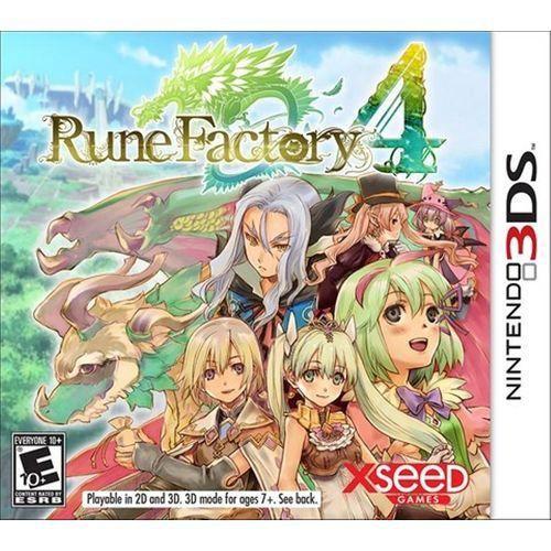 Jogo Nintendo 3DS Rune Factory 4 - XSeed Games