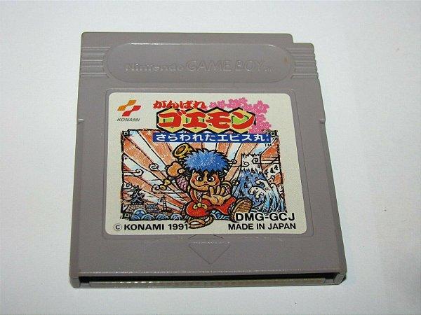 Jogo Game Boy Ganbare Goemon Sarawareta Ebisumaru - Konami