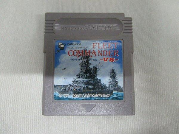 Jogo Game Boy Fleet Commander VS Japones - ASCII