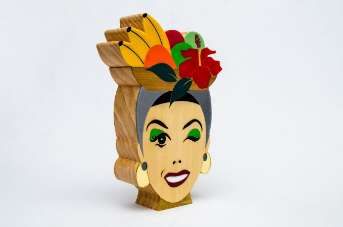 Carmen Miranda   Artista: Patrícia Maranhão