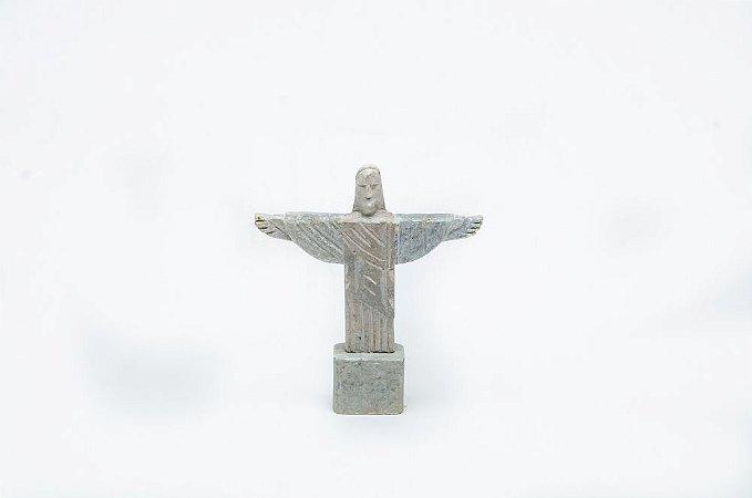 Cristo Redentor em miniatura de Pedra Sabão