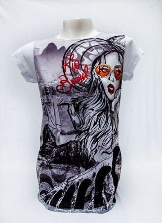 Camiseta Feminina   Garota Carioca