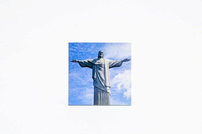 Imã e porta copos | Cristo Redentor
