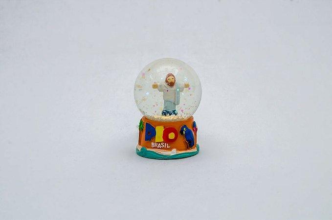 Mini Globo de Neve Cristo Redentor