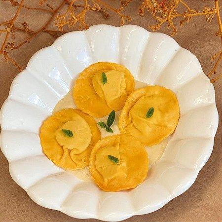 Raviolli de Burrata com Limão Siciliano