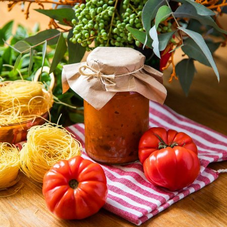 Molho de Tomate Caseiro (8h de cozimento) - 500g