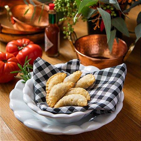 Pastel de Carne Seca com Queijo - 50 unidades