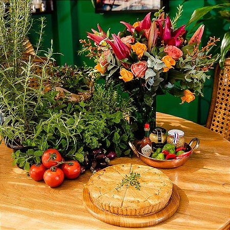 Torta Tradicional de Frango com Requeijão - 1,5Kg