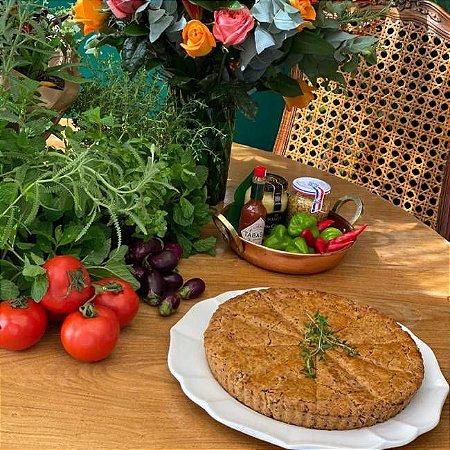 Torta Integral de Frango com Requeijão - 1,5Kg