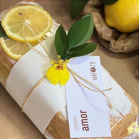 Bolo de Iogurte de Limão Siciliano