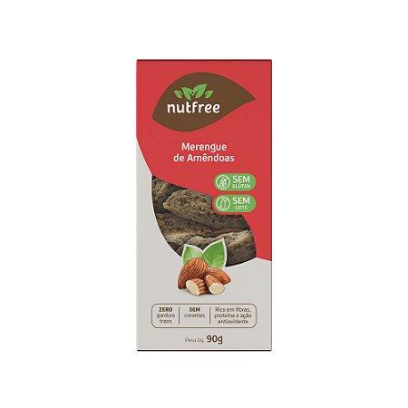Biscoito de Merengue de Amêndoas Sem Glúten 90g