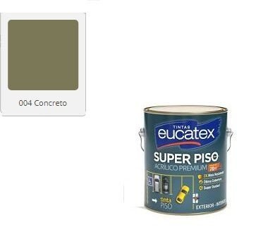SUPER PISO EUCATEX CONCRETO 3,6 lts