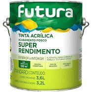 ACRÍLICA FUTURA SUPER RENDIMENTO 3,6 lts - Escolha a cor.