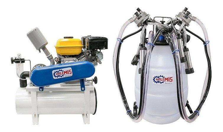 Ordenhadeira Implemis Ord300 A Gasolina Com 1 Cj Duplo  1 Tarro