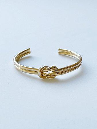 Bracelete Nó - SEMIJOIA