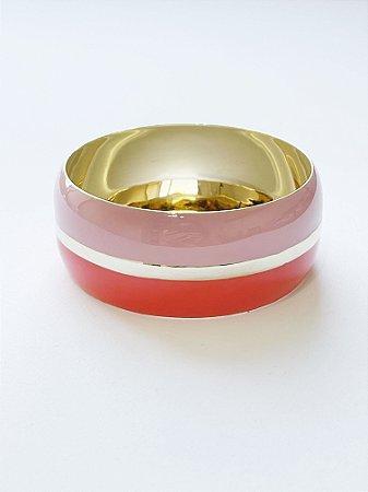 Bracelete Bicolor Esmaltado