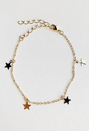 Pulseira Estrela Semijoia